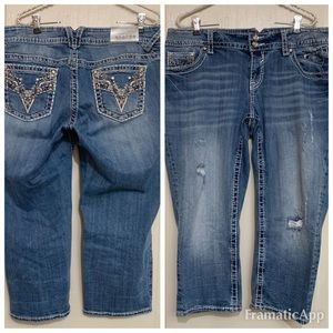 Vigoss Jeans Size 16 Capri